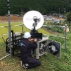 C-COM antennas deployed in landslide disaster in western Japan