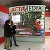 ACTAMEDYA promotes its services at the Global Satshow in Istanbul