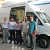 Jordan's state broadcaster, JRTV, takes delivery of a new SNG vehicle