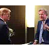 Trickbox TV's OB flyaway solution used to shoot world exclusive ITV interview with Donald Trump