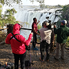 Purple Turtle makes world's first SNG live satellite broadcast from Victoria Falls
