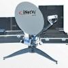 C-COM antenna tracks NSLComm's Low Earth Orbit (LEO) satellite