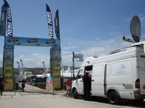 Boardmasters Surf Festival, Newquay, UK