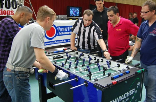Table Football is not just a pub game, but a serious sport in Germany