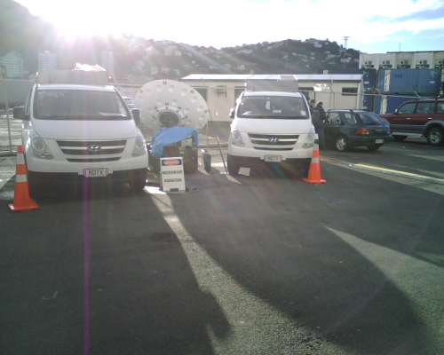 Kordia DSNG in New Zealand