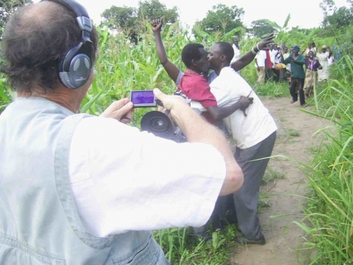Anthony Irving - Filming LRA commander homecoming N. Uganda