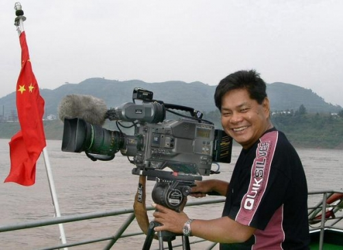 Rollie Malicsi - Philippines' cameraman.