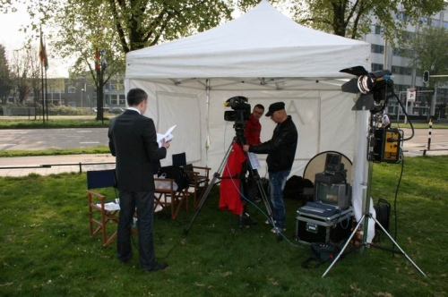 Crew at live position