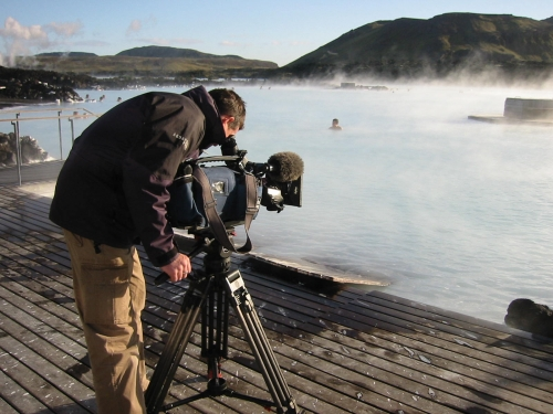 Discovery Channel shoot, Iceland - Phil Gurney