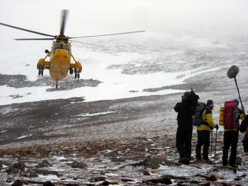 Mountain Rescue shoot (BBC) - Phil Gurney