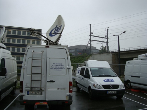 İHA - SNG broadcast production and transmission - Zurich