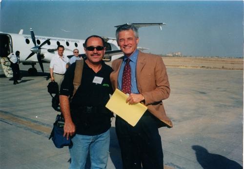Wth UN representative in Iraq