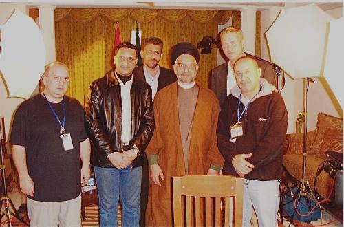 With the head of Iraqi supreme islamic council