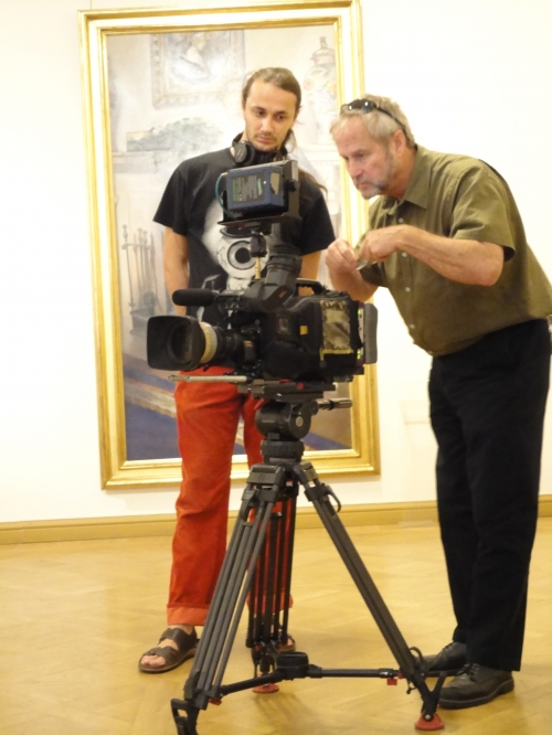 Harry Edwin Dawson Testing High Definition camcorder HDCAM SONY HDW750P, video equipment, provided by a Russian company TVDATA.RU.