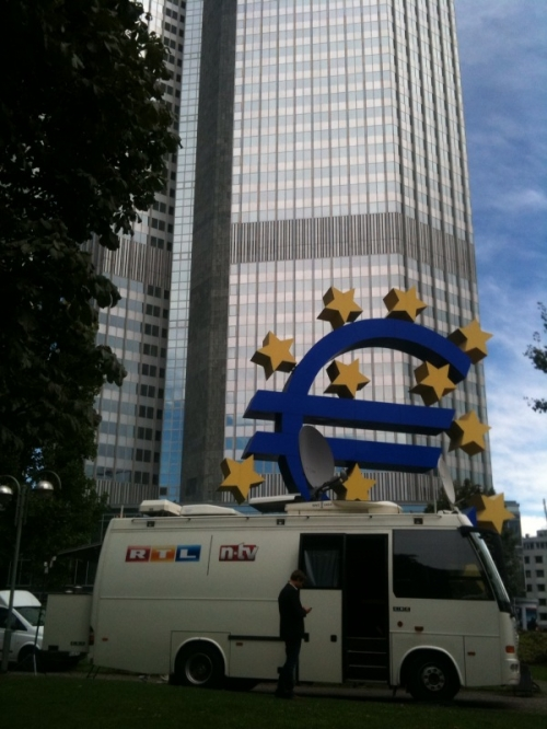 CBC on assignment for RTL & n-tv