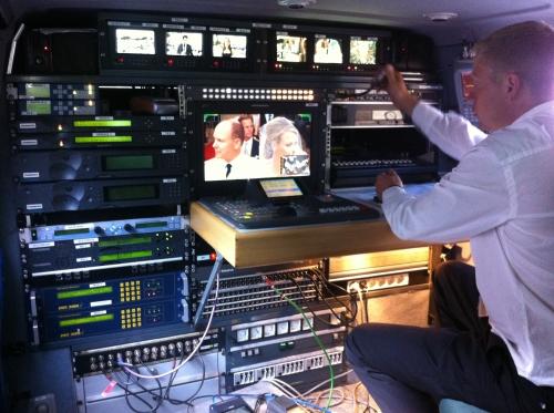 Satellite Prod (France) provide DSNG services at wedding