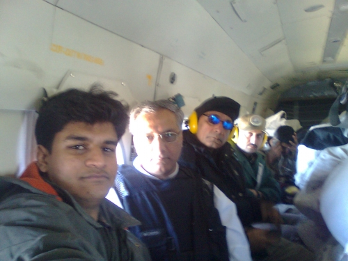 Umar Munir, Asad Qureshi and Ahmed jamal