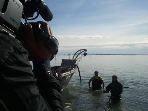 clam fishing