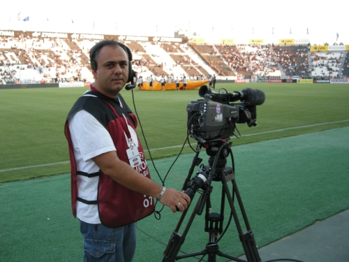 Working in sports (OB-van) 2011
