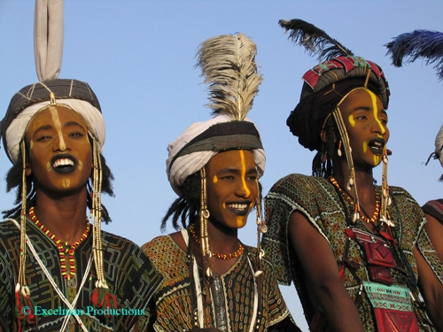 Fulani_Peul Beauty Contest for Young Men