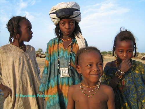 Fulani / Peul Children from Niger