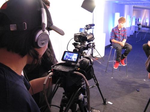 Justin Bieber on interview