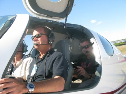 Russian Producer & Camera Crew assisting Canadian Discovery Channel filming an International Air Show near Moscow, Russia on Zhukovskiy LII air field. The show was an 8 part Series about Ferry pilots who deliver planes to buyers and events around the world.