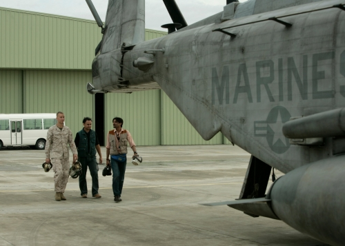 Story on US Marines During Floods