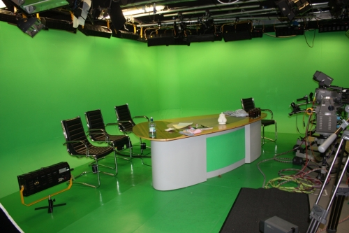 Green Screen Studio Cyclorama