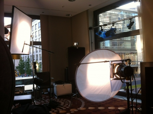 interview junket for a corporate client