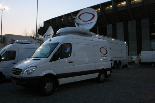 Mpeg-4 uplink for VRT and European distribution.