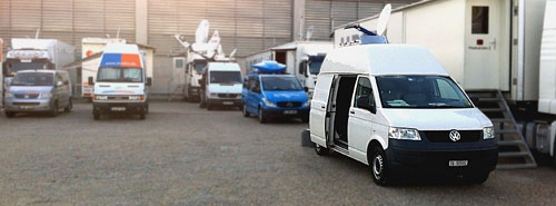 IP SNG on location