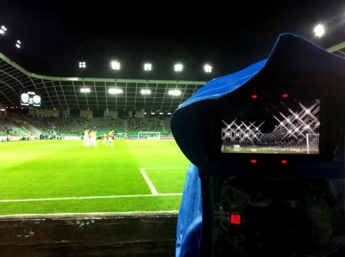 UEFA Euro 2012 qualifying game Slovenia:Estonia