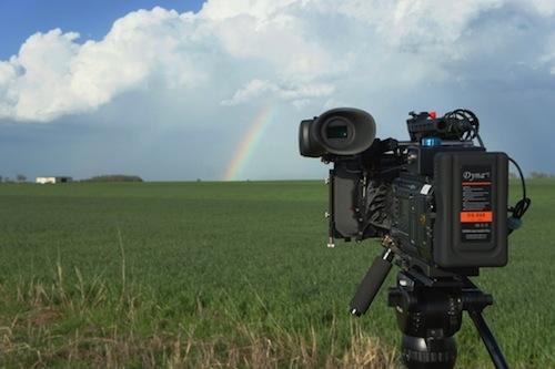 Sony F5over the rainbow