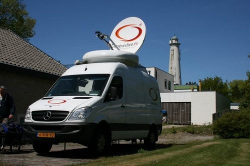 Making uplinks between Chicago, The Netherlands and Switzerland.