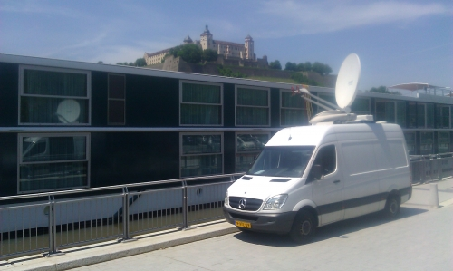 Live from a river cruise ship in Würzburg