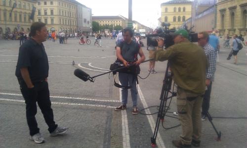 Live from Odeonsplatz in München