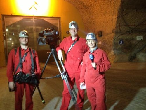 we went underground in Gorleben.