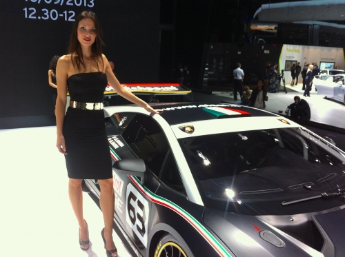 """Girls and cars were out in force when the Italian broadcaster RAI requested an XDCam camera crew from us to shoot for their TV show """"Easy Driver"""". We shot on the relatively new Sony PMW 200, which is Sony's smallest camera which shoots broadcast standard 4.2.2"""
