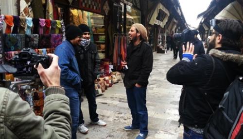 Filming Grand Bazaar
