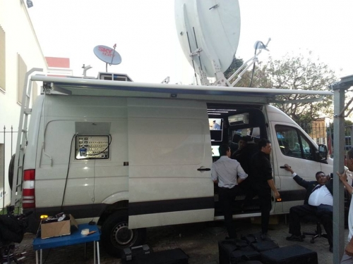 SP Telefilm - DSNG in Brazil