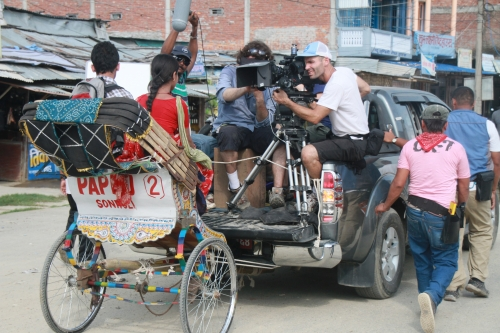 Film Himalaya in Nepal.