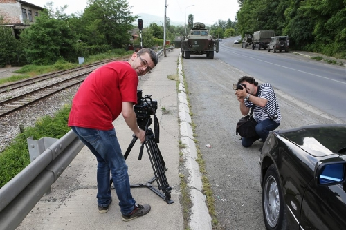 Kosovo shooting in production np