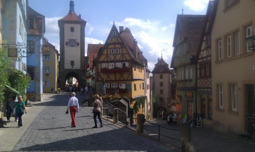 Beautifull city of Rothenburg