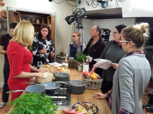 TVDATA.TV provided Russian speaking producer to work on a filming set for cooking series to be broadcast by Food Network in the UK