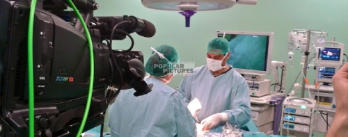 multi-camera live webcast from Teknon hospital Barcelona, Spain.