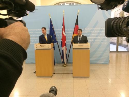 Press statements after the talks