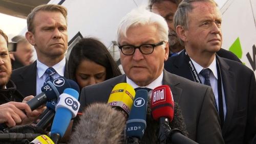 German Foreign Minister Steinmeier