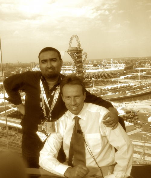 Host Broadcaster BBC; Mo Hussain and Ben Brown BBC, always a pleasure working with Ben. Contact: hussainm.mohammad@outlook.com