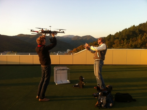 Daily rate 1199 Euro per day up to 8 various points of filming. Order online and get 10 % discount until 31/12/2014 http://www.tvdata.tv/Drone+aerial+filming+in+Russia